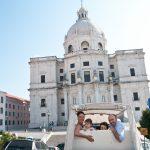 Sessao Aniversario 10 anos Giselle e Carlos Tuk Tuk Tejo por Lisboa e Jardim da Estrela Lisboa